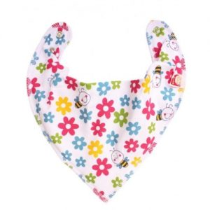 Flowers and Bees DryBib Bandana