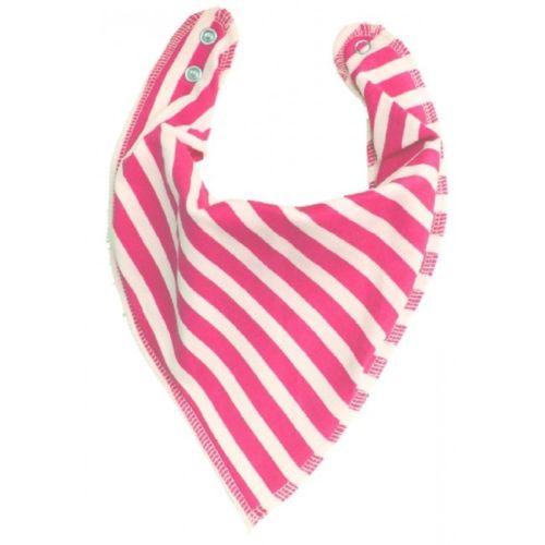 Pink Stripes DryBib Bandana