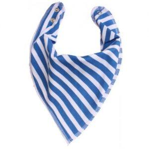 French Blue Stripes DryBib Bandana