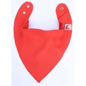 Solid Orange/Red DryBib Bandana