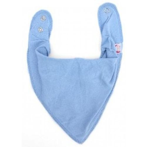 Solid Baby Blue DryBib Bandana