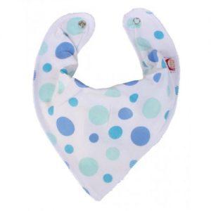 Blue Spots DryBib Bandana